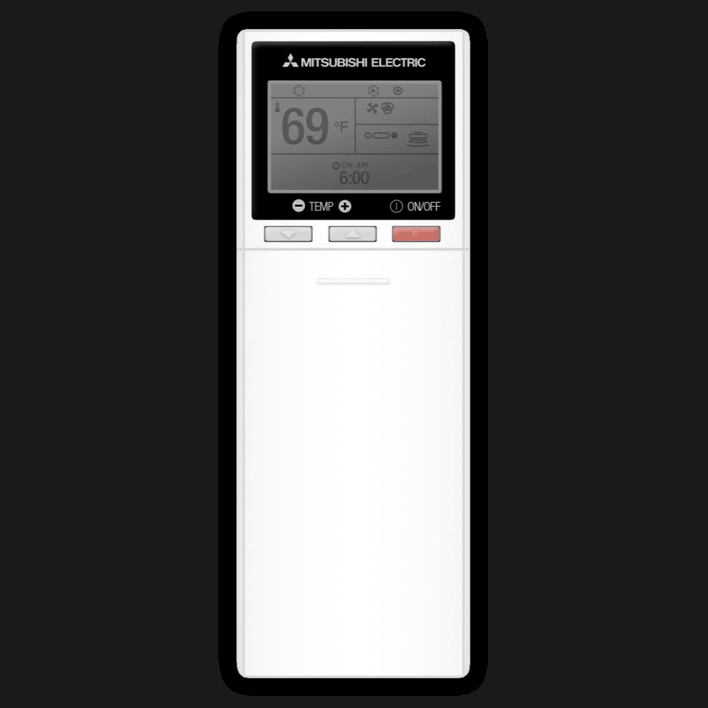 Mitsubishi handheld control.