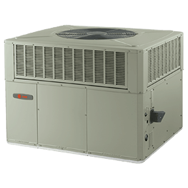 Trane XR14c packaged gas/electric systems.